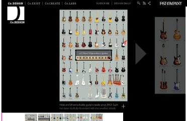 http://www.fastcodesign.com/1671652/infographic-64-of-the-coolest-guitars-from-the-past-100-years#1