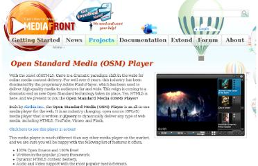 http://www.mediafront.org/project/osmplayer