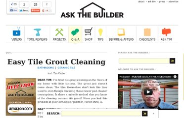 http://www.askthebuilder.com/easy-tile-grout-cleaning/