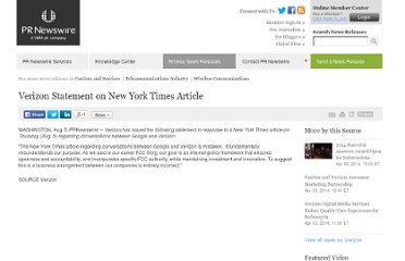 http://www.prnewswire.com/news-releases/verizon-statement-on-new-york-times-article-100048489.html