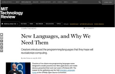 http://www.technologyreview.com/news/419956/new-languages-and-why-we-need-them/