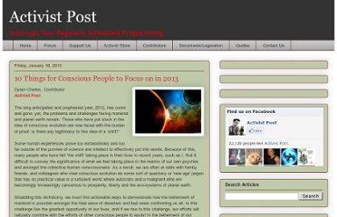 http://www.activistpost.com/2013/01/10-things-for-conscious-people-to-focus.html