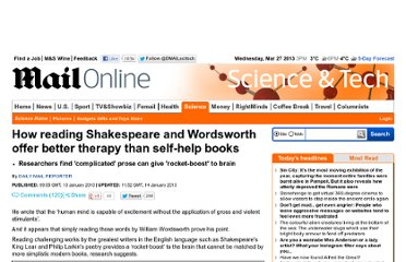 http://www.dailymail.co.uk/sciencetech/article-2261636/Reading-Shakespeare-Wordsworth-offer-better-therapy-self-help-books.html