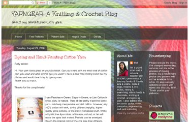 http://yarngear.blogspot.com/2006/08/dyeing-and-hand-painting-cotton-yarn.html