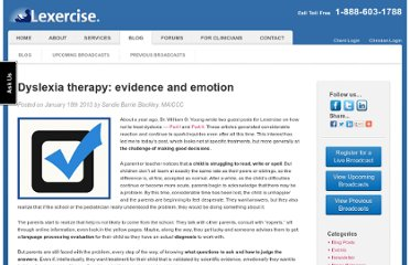 http://www.lexercise.com/2013/01/dyslexia-therapy-evidence-and-emotion/
