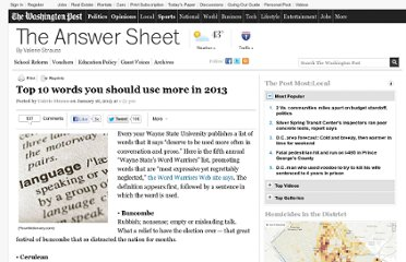 http://www.washingtonpost.com/blogs/answer-sheet/wp/2013/01/18/top-10-words-you-should-use-more-in-2013/