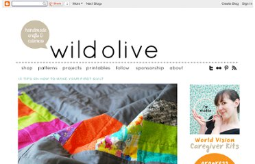 http://wildolive.blogspot.com/2013/01/15-tips-on-how-to-make-your-first-quilt.html