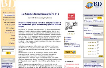http://www.bdselection.com/php/chroniquebd-13071_Le_Guide_du_mauvais_p%C3%A8re.html