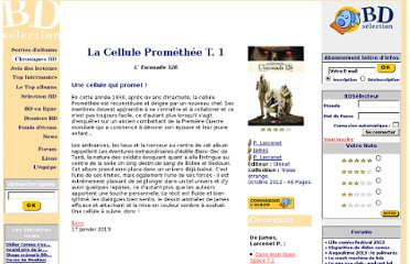 http://www.bdselection.com/php/chroniquebd-13065_La_Cellule_Prom%C3%A9th%C3%A9e.html