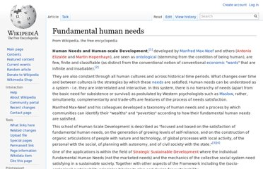 http://en.wikipedia.org/wiki/Fundamental_human_needs