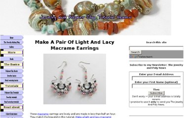 http://www.jewelry-and-polymerclay-tutorial-heaven.com/macrame-earrings.html