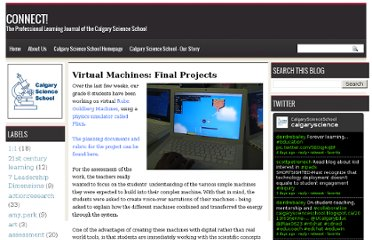 http://calgaryscienceschool.blogspot.com/2010/06/virtual-machines-final-projects.html