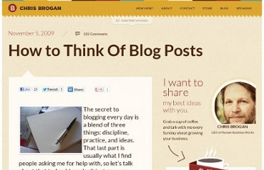http://www.chrisbrogan.com/how-to-think-of-blog-posts/