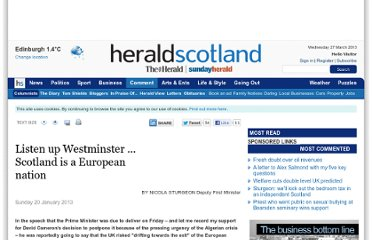 http://www.heraldscotland.com/comment/columnists/listen-up-westminster-scotland-is-a-european-nation.19961346#.UPu2HKB36L0.twitter