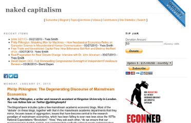 http://www.nakedcapitalism.com/2013/01/philip-pilkington-the-degenerating-discourse-of-mainstream-economics.html