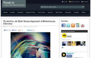 http://www.rweb.tv/dj-jerohm-sixth-sense-approach-minimhouse-interview