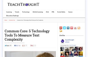 http://www.teachthought.com/common-core-2/common-core-5-technology-tools-to-measure-text-complexity/