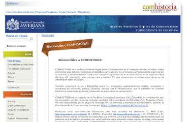 http://comhistoria.javerianacali.edu.co:8080/xmlui/pages/inicio