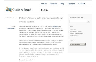 http://julienroze.fr/acces-guide