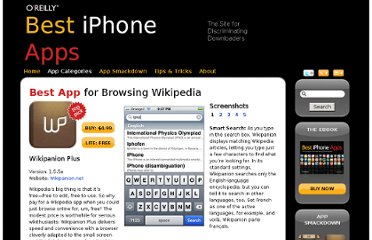 http://iphoneapps.oreilly.com/2009/10/browsing-wikipedia-browser.html