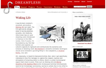http://dreamflesh.com/blog/2004/10/wakinglife/