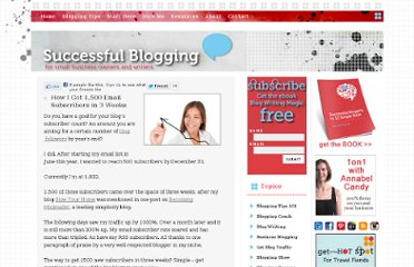 http://www.successfulblogging.com/how-to-get-email-subscribers/