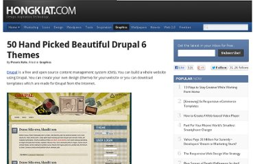 http://www.hongkiat.com/blog/hand-picked-beautiful-drupal-6-themes/
