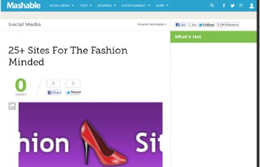 http://mashable.com/2007/11/13/25-fashion-sites/
