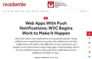 http://readwrite.com/2010/06/30/push_notifications_for_web_apps