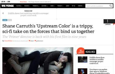 http://www.theverge.com/2013/1/22/3903524/upstream-color-review-shane-carruth-sundance