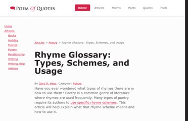 http://www.poemofquotes.com/articles/rhyme-usage.php