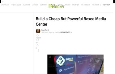 http://lifehacker.com/5406563/build-a-cheap-but-powerful-boxee-media-center