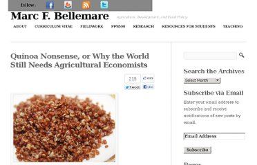 http://marcfbellemare.com/wordpress/2013/01/quinoa-nonsense-or-why-the-world-still-needs-agricultural-economists/