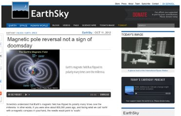 http://earthsky.org/space/magnetic-pole-reversal-not-a-sign-of-doomsday