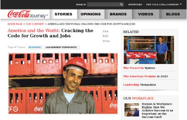 http://www.coca-colacompany.com/our-company/america-and-the-world-cracking-the-code-for-growth-and-jobs