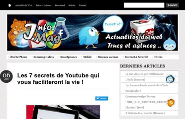 http://inf0mag.blogspot.com/2013/01/secrets-youtube.html