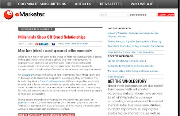 http://www.emarketer.com/Article/Millennials-Show-Off-Brand-Relationships/1008016
