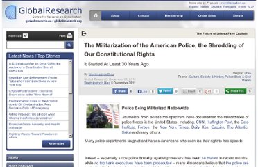 http://www.globalresearch.ca/the-militarization-of-the-american-police-the-shredding-of-our-constitutional-rights/28103