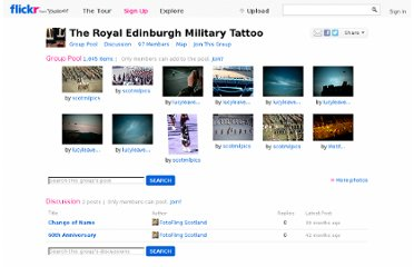 http://www.flickr.com/groups/edinburgh_military_tattoo/