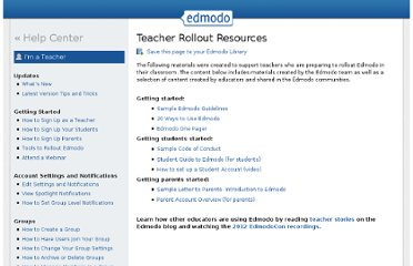 http://help.edmodo.com/teachers/teacher-rollout-resources/