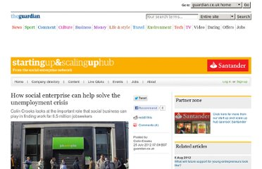 http://www.guardian.co.uk/social-enterprise-network/2012/jul/25/social-enterprise-solve-unemployment-crisis