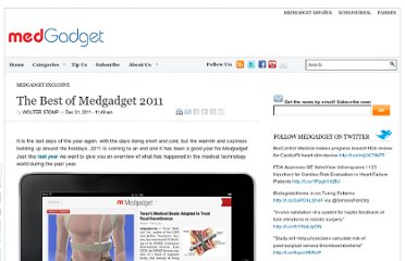 http://www.medgadget.com/2011/12/the-best-of-medgadget-2011.html