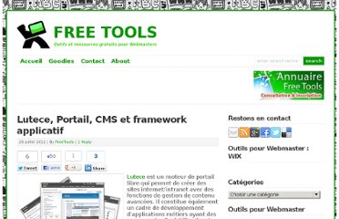http://free-tools.fr/creation-site-internet/lutece-portail-cms-et-framework-applicatif-4788/