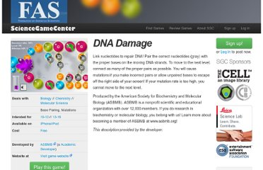 http://www.sciencegamecenter.org/games/dna-damage?goback=%2Egde_2942534_member_206994386