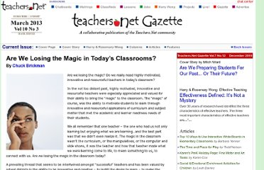 http://gazette.teachers.net/gazette/wordpress/chuck-brickman/losing-the-magic/
