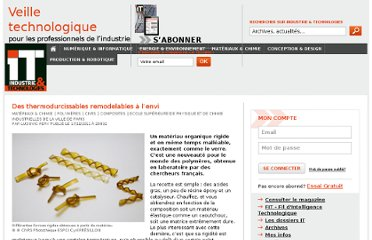 http://www.industrie-techno.com/des-thermodurcissables-remodelables-a-l-envi.12235
