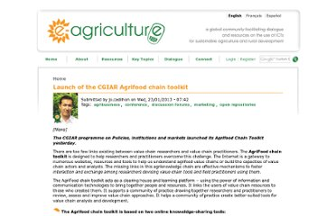 http://www.e-agriculture.org/news/launch-cgiar-agrifood-chain-toolkit