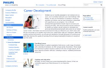 http://www.philips.com/about/careers/graduates/career_development/index.page
