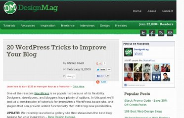 http://designm.ag/design/wordpress-tricks/