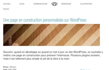 http://www.pushaune.com/une-page-en-construction-personnalisee-sur-wordpress/